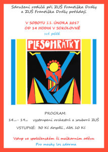 Plesohrátky plakát 2017
